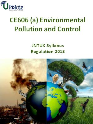 (a) Environmental Pollution and Control - Syllabus