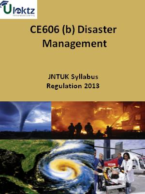 (b) Disaster Management - Syllabus