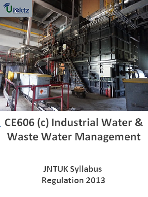 (c) Industrial Water & Waste Water Management - Syllabus