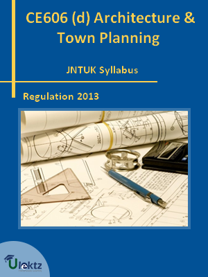 (d) Architecture And Town Planning - Syllabus