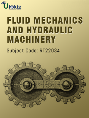 Fluid Mechanics And Hydraulic Machinery