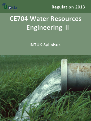Water Resources Engineering – II - Syllabus