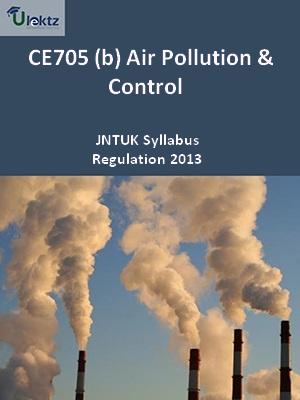 (b) Air Pollution And Control - Syllabus