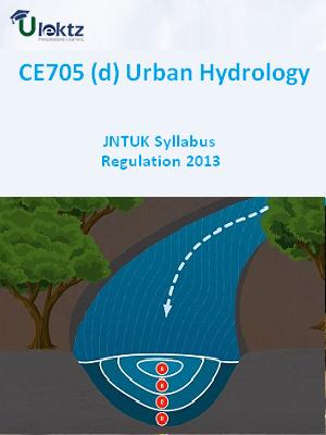 (d) Urban Hydrology - Syllabus