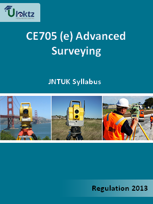 (e) Advanced Surveying - Syllabus