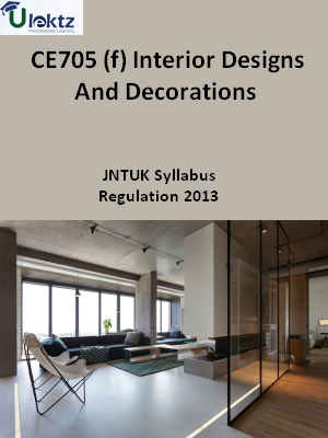(f) Interior Designs And Decorations - Syllabus