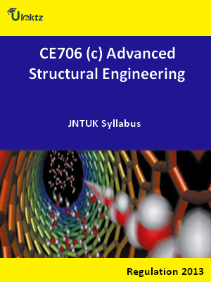 (c) Advanced Structural Engineering - Syllabus
