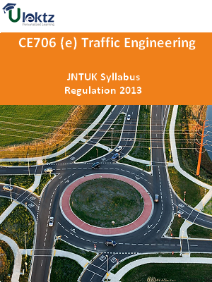 (e) Traffic Engineering - Syllabus
