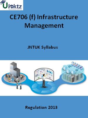 (f) Infrastructure Management - Syllabus
