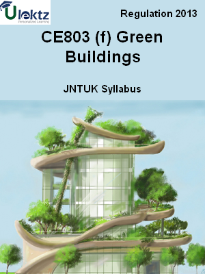 (f) Green Buildings - Syllabus