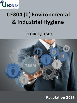 (b) Environmental And Industrial Hygiene - Syllabus