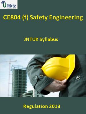 (f) Safety Engineering - Syllabus