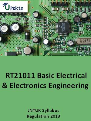 Basic Electrical And Electronics Engineering - Syllabus