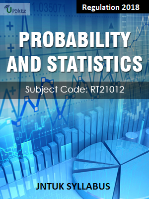 Probability And Statistics - Syllabus