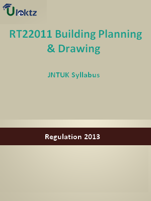 Building Planning & Drawing - Syllabus