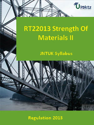 Strength Of Materials- II - Syllabus