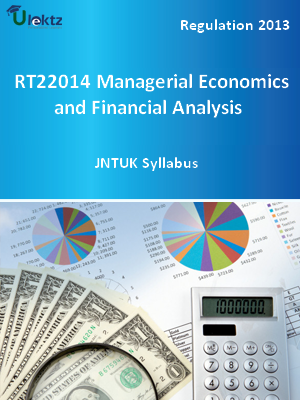 Managerial Economics and Financial Analysis - Syllabus