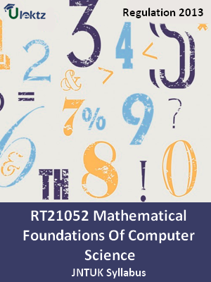 Mathematical Foundations Of Computer Science - Syllabus