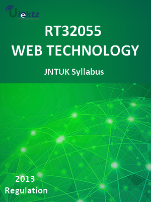 Web Technologies - Syllabus