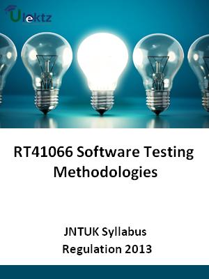 Software Testing Methodologies - Syllabus