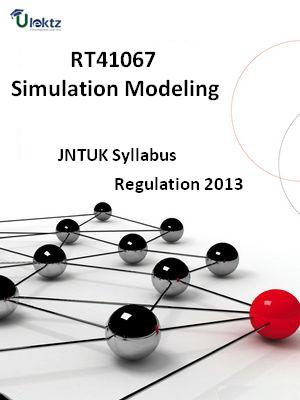 Simulation Modeling - Syllabus