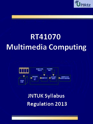Multimedia Computing - Syllabus