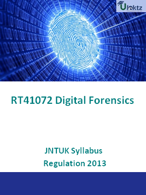 Digital Forensics - Syllabus