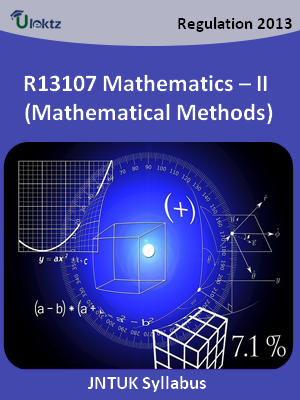 Mathematics – II (Mathematical Methods) - Syllabus