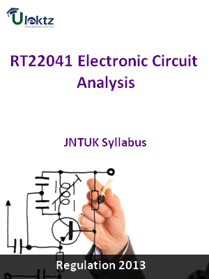 Electronic Circuit Analysis - Syllabus