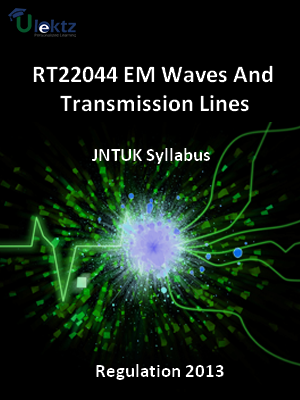 EM Waves And Transmission Lines - Syllabus