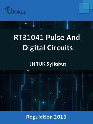 Pulse And Digital Circuits - Syllabus