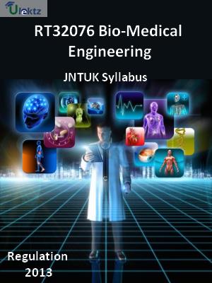 Bio-Medical Engineering - Syllabus