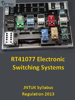 Electronic Switching Systems - Syllabus
