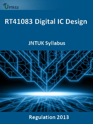 Digital IC Design - Syllabus