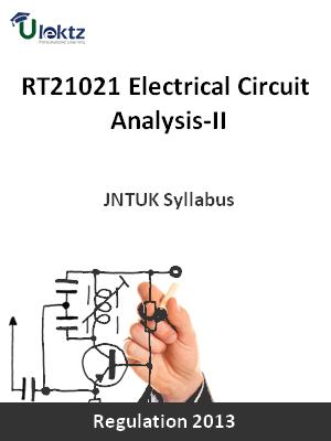 Electrical Circuit Analysis-II - Syllabus