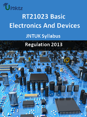 Basic Electronics And Devices - Syllabus