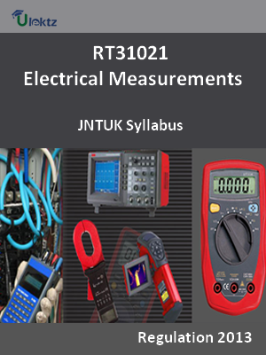 Electrical Measurements - Syllabus