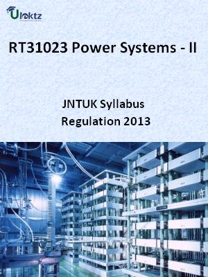 Power Systems - II - Syllabus