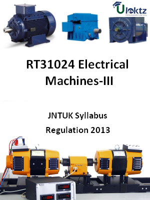 Electrical Machines-III - Syllabus