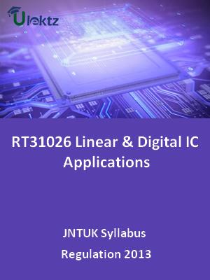 Linear & Digital IC Applications - Syllabus