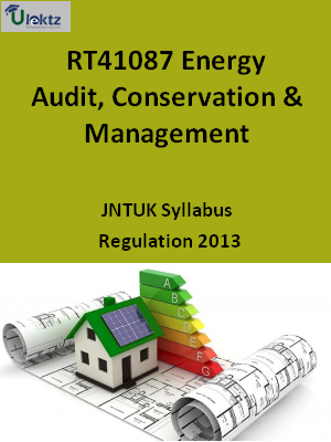 Energy Audit, Conservation & Management - Syllabus
