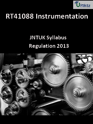 Instrumentation - Syllabus