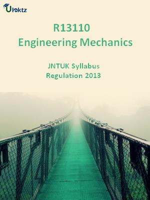 Engineering Mechanics - Syllabus
