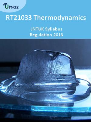 Thermodynamics - Syllabus