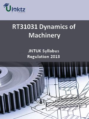 Dynamics of Machinery - Syllabus