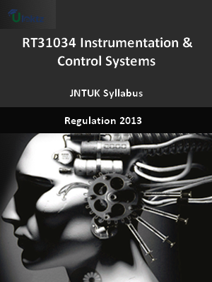 Instrumentation & Control Systems - Syllabus