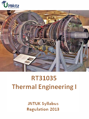 Thermal Engineering -II - Syllabus