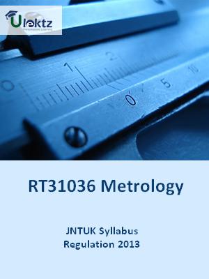 Metrology - Syllabus