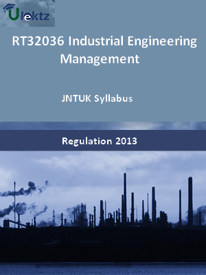 Industrial Engineering Management - Syllabus