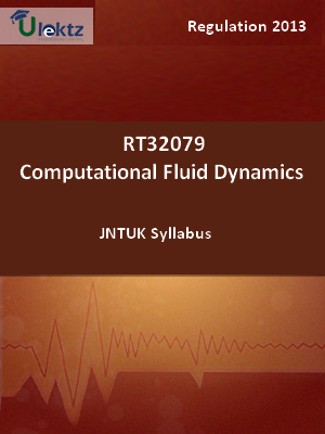 Computational Fluid Dynamics - Syllabus